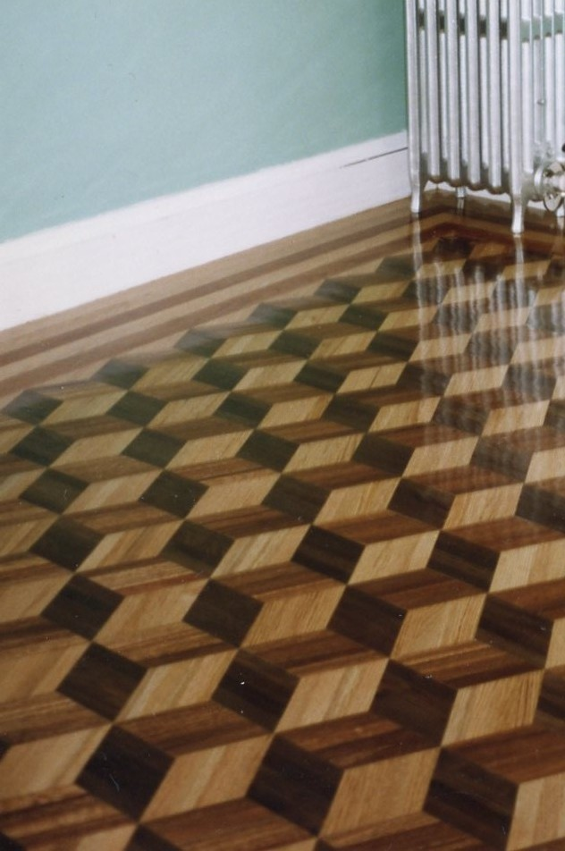 three dimensional wood floors | duffyfloors