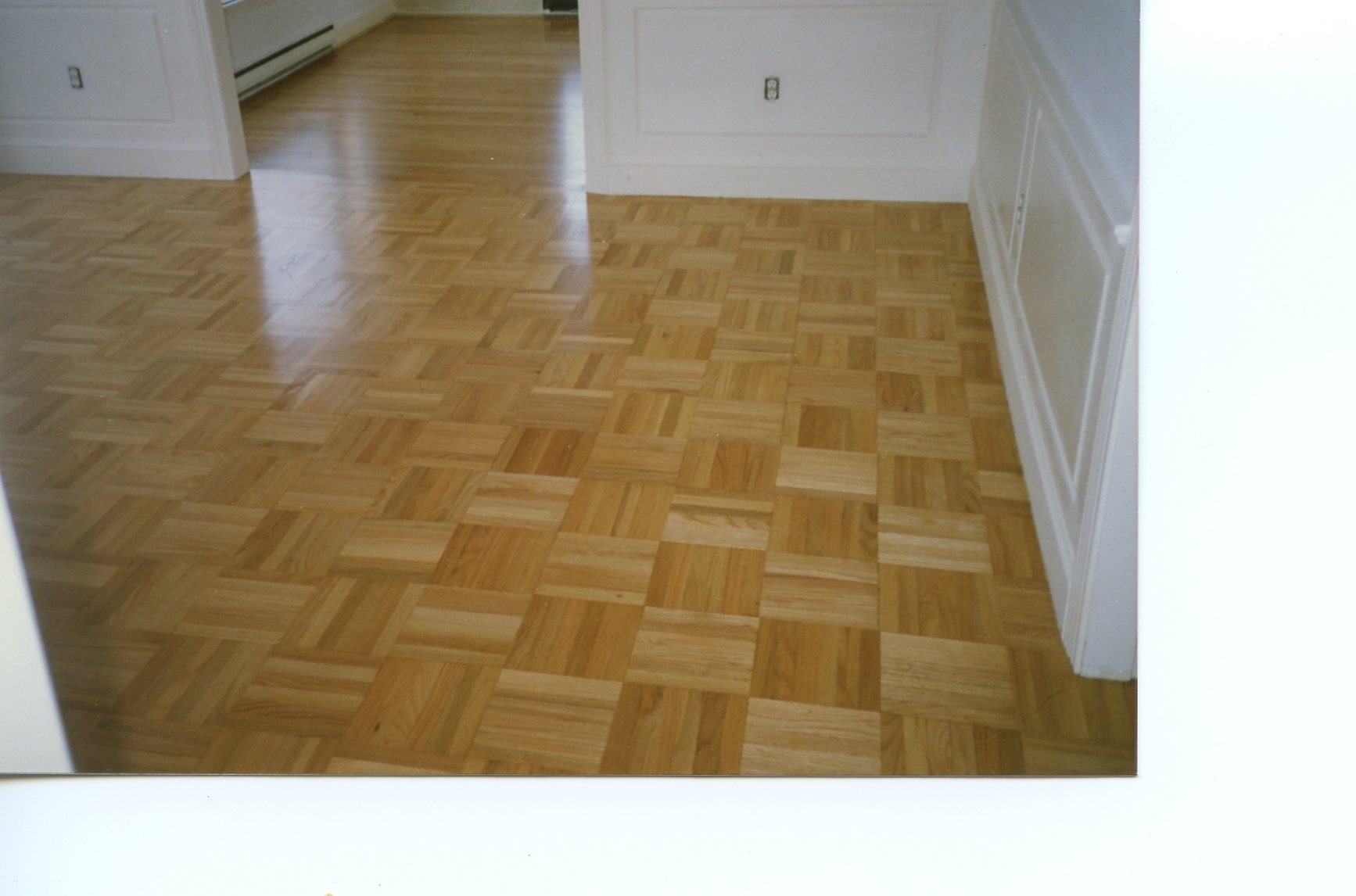 Stained hard wood floors duffyfloors for Hard floor tiles