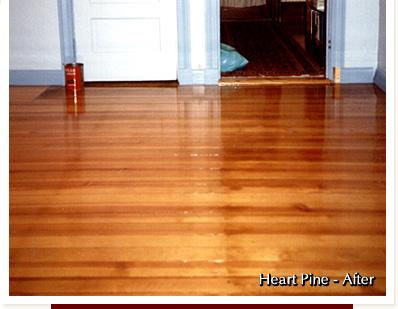 Heart Pine Wood Flooring Duffyfloors