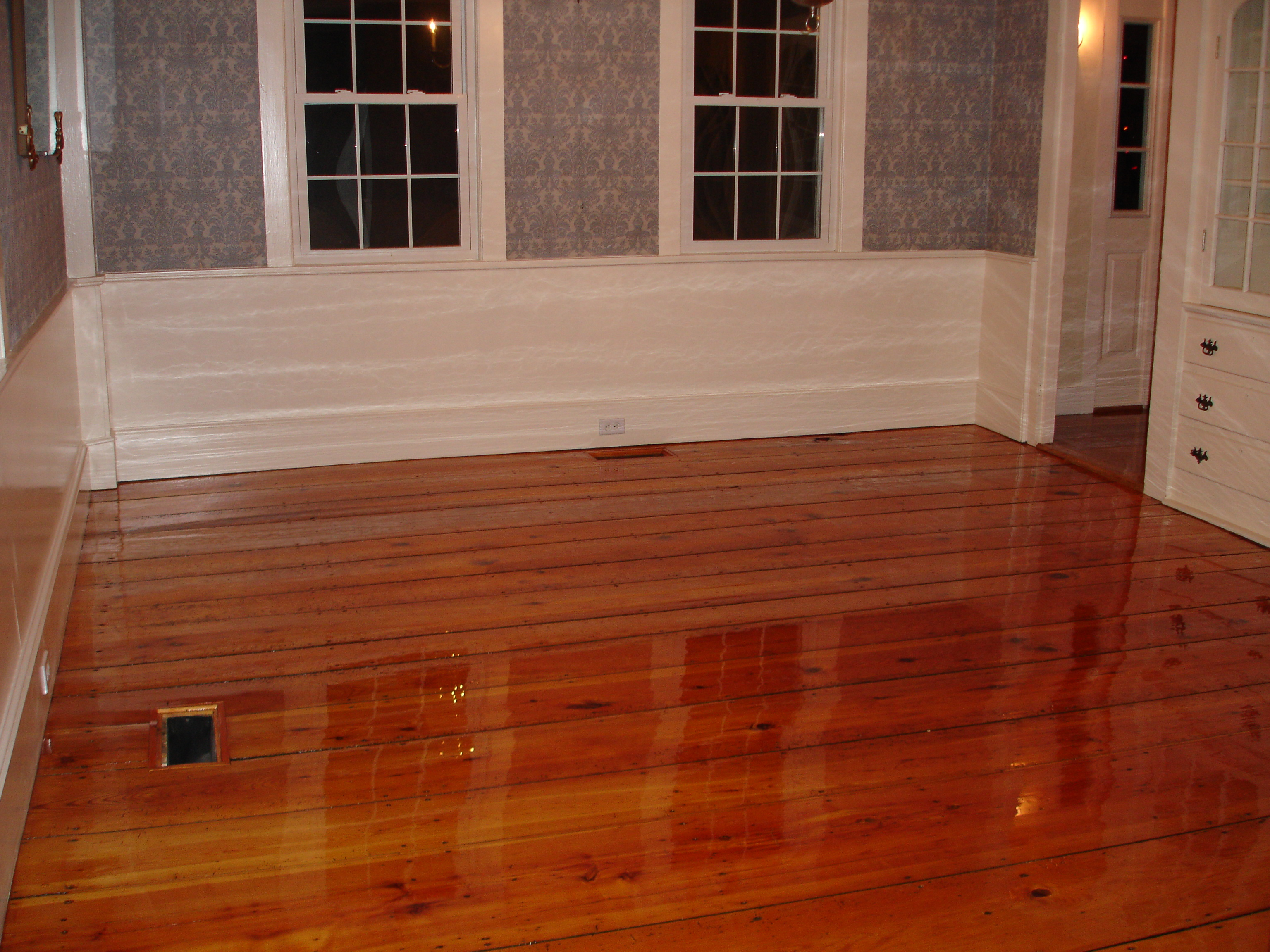 Pumpkin pine wood flooring duffyfloors for Pine wood flooring