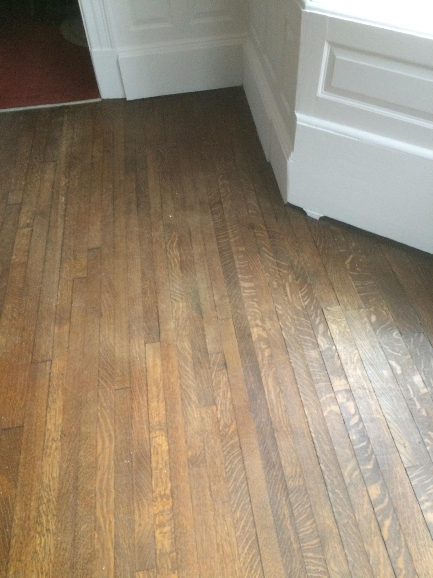 Waxing Wood Floors-before - Wood Floors Duffyfloors